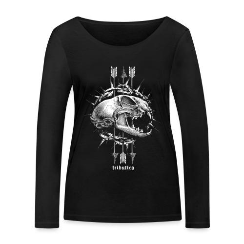 Death Cat by Tributica® - Frauen Bio-Langarmshirt von Stanley & Stella
