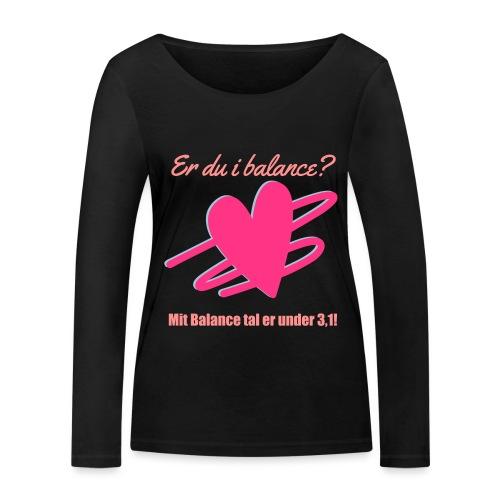 I Balance Design - Økologisk Stanley & Stella langærmet T-shirt til damer