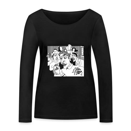 Cheap Labour Album Cover - Ekologisk långärmad T-shirt dam från Stanley & Stella