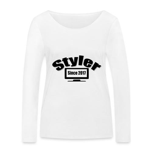 Styler Designer Kleding - Vrouwen bio shirt met lange mouwen van Stanley & Stella