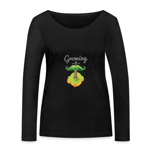 Moustache tree - Women's Organic Longsleeve Shirt by Stanley & Stella