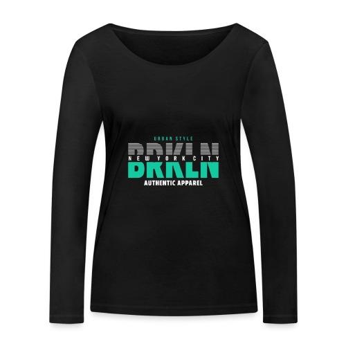 Brooklyn Urban Style - Frauen Bio-Langarmshirt von Stanley & Stella