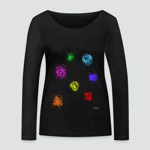 Farben png - Frauen Bio-Langarmshirt von Stanley & Stella