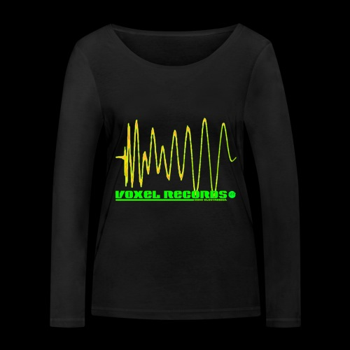 Boom 909 Drum Wave - Women's Organic Longsleeve Shirt by Stanley & Stella