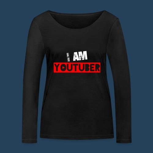I am Youtuber - Frauen Bio-Langarmshirt von Stanley & Stella