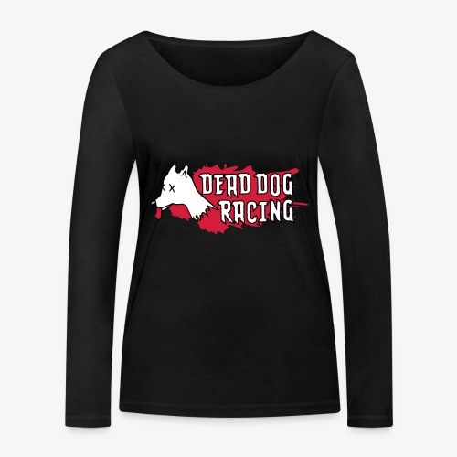 Dead dog racing logo - Women's Organic Longsleeve Shirt by Stanley & Stella