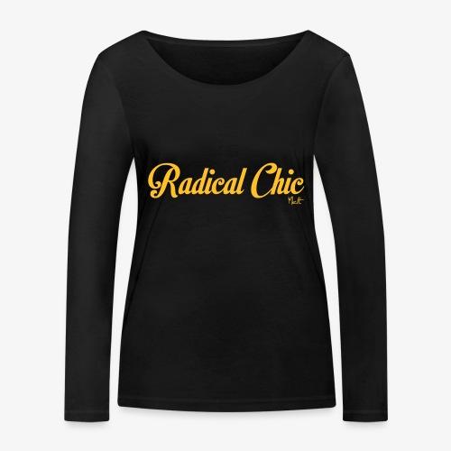 radical chic - Maglietta a manica lunga ecologica da donna di Stanley & Stella