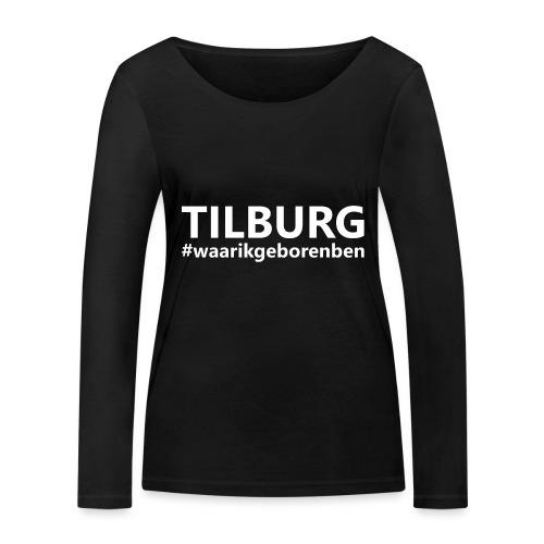 #waarikgeborenben - Vrouwen bio shirt met lange mouwen van Stanley & Stella