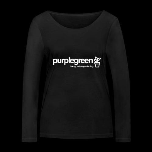 purplegreen classic - Frauen Bio-Langarmshirt von Stanley & Stella