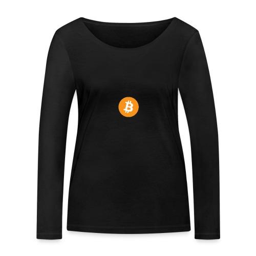 Bitcoin - Women's Organic Longsleeve Shirt by Stanley & Stella