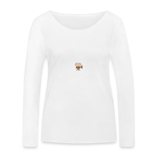 Mad Media Logo - Women's Organic Longsleeve Shirt by Stanley & Stella