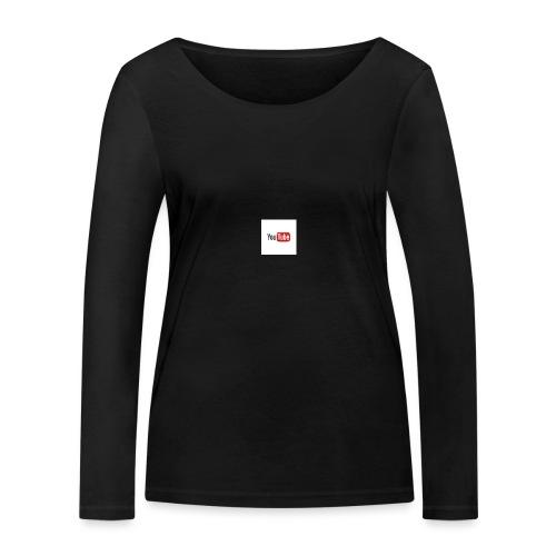 youtube beertje - Vrouwen bio shirt met lange mouwen van Stanley & Stella