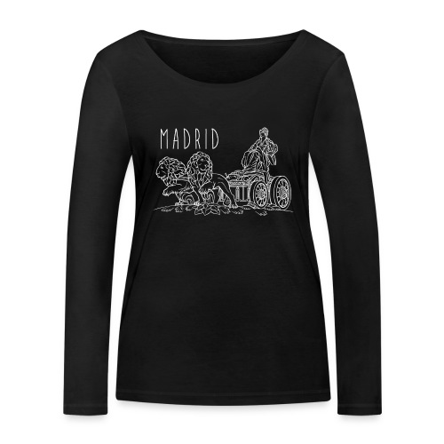 CIBELES BLANCO - Camiseta de manga larga ecológica mujer de Stanley & Stella