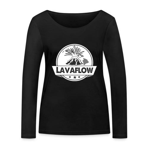 Lavaflow Vulkan Hawaii - Frauen Bio-Langarmshirt von Stanley & Stella