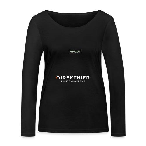 DIREKTHIER Logo - Frauen Bio-Langarmshirt von Stanley & Stella