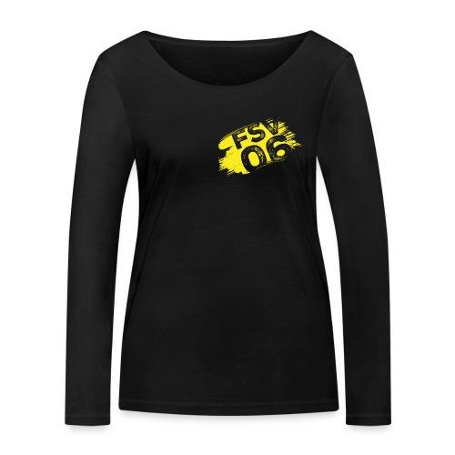 Hildburghausen FSV 06 Graffiti gelb - Frauen Bio-Langarmshirt von Stanley & Stella