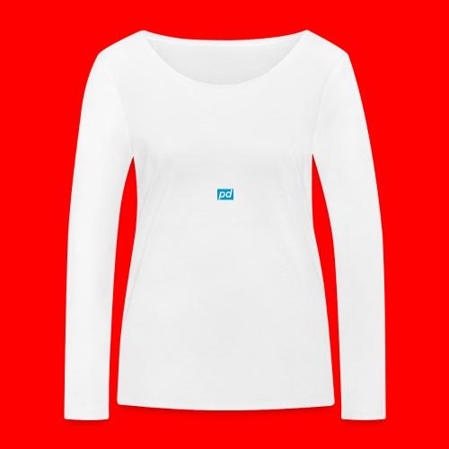 pd Blue - Økologisk Stanley & Stella langærmet T-shirt til damer