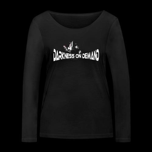 DoD Darkness on Demand Cat - Frauen Bio-Langarmshirt von Stanley & Stella