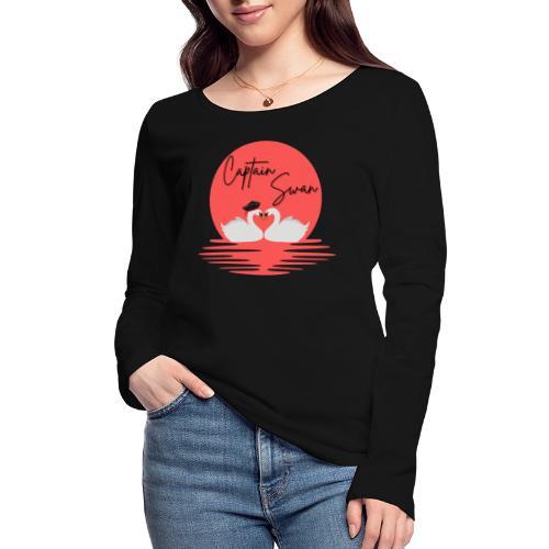 Captain Swan - T-shirt manches longues bio Stanley & Stella Femme