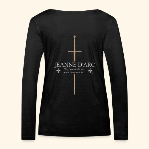 Jeanne d arc - Frauen Bio-Langarmshirt von Stanley & Stella