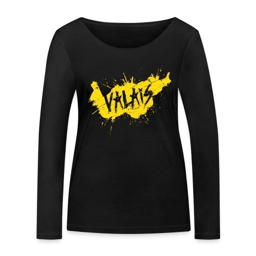 VALAIS GRUNGY GELB - Frauen Bio-Langarmshirt von Stanley & Stella