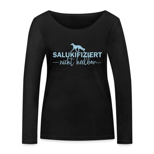 Saluki - nicht heilbar - Frauen Bio-Langarmshirt von Stanley & Stella
