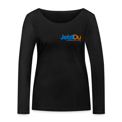 JetztDuLogo ArtWork1 - Frauen Bio-Langarmshirt von Stanley & Stella