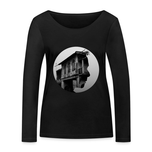 Old town memories - Women's Organic Longsleeve Shirt by Stanley & Stella