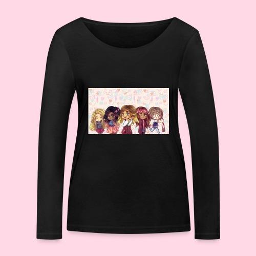 bggals png - T-shirt manches longues bio Stanley & Stella Femme