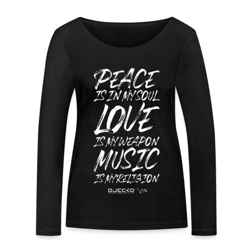 Djecko 001 - T-shirt manches longues bio Stanley & Stella Femme