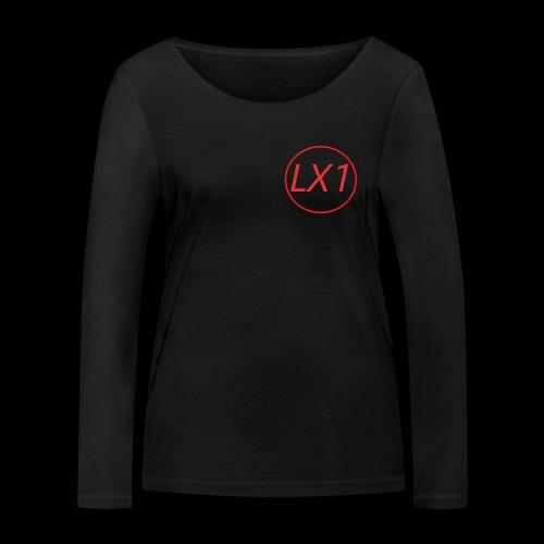 WilleLX1 Logo - Ekologisk långärmad T-shirt dam från Stanley & Stella
