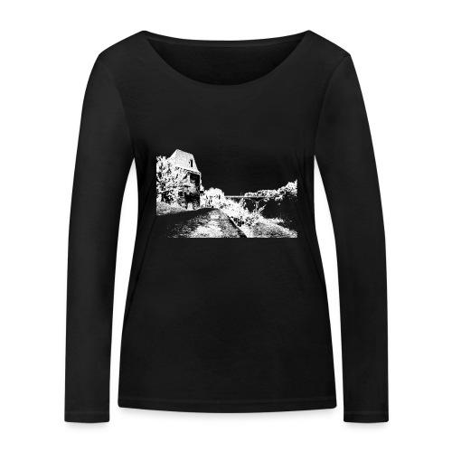 J'aime Mouleydier - Pont F - T-shirt manches longues bio Stanley & Stella Femme
