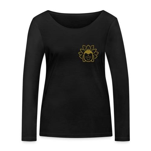 Boeddha hoofd blad - Vrouwen bio shirt met lange mouwen van Stanley & Stella