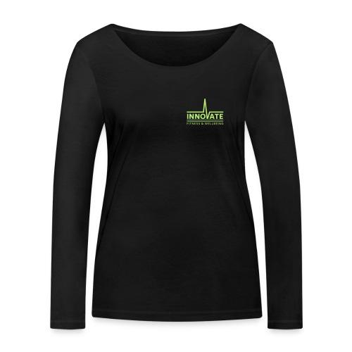 Chris Lupton no black bac - Women's Organic Longsleeve Shirt by Stanley & Stella