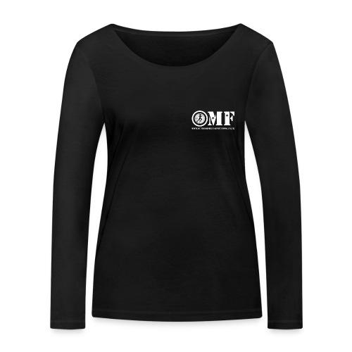 OMF white logo - Women's Organic Longsleeve Shirt by Stanley & Stella