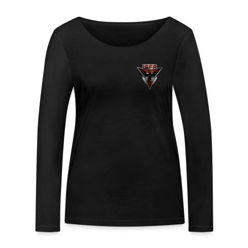 isfa logo abzeichen1 - Frauen Bio-Langarmshirt von Stanley & Stella