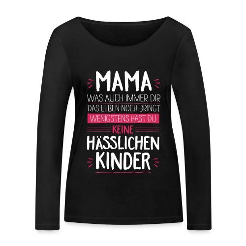 Mama - Kinder <3 - Frauen Bio-Langarmshirt von Stanley & Stella