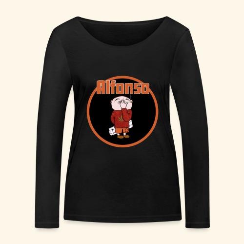 Alfonso - Ekologisk långärmad T-shirt dam från Stanley & Stella