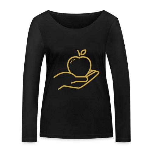 Äpplet - Ekologisk långärmad T-shirt dam från Stanley & Stella