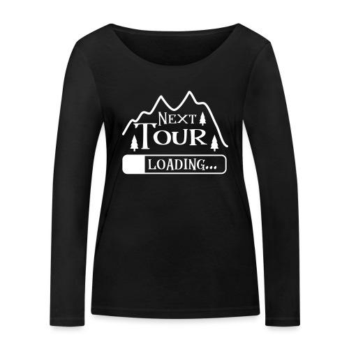 Wandern Klettern Bergsteigen Tour Laden Berg Natur - Frauen Bio-Langarmshirt von Stanley & Stella