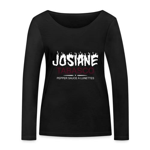 josiane tabasco - T-shirt manches longues bio Stanley & Stella Femme
