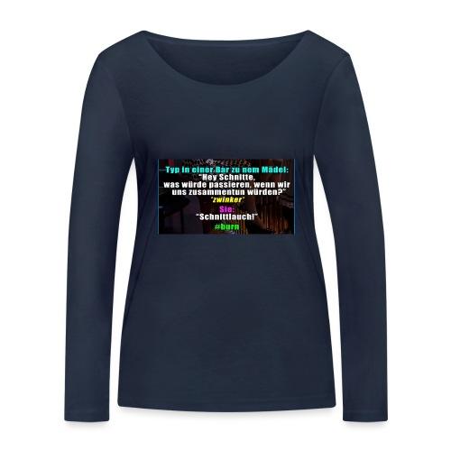 SchnitLauch - Frauen Bio-Langarmshirt von Stanley & Stella