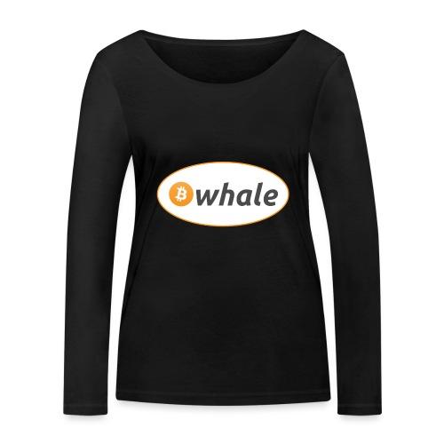 Bitcoin Whale - Women's Organic Longsleeve Shirt by Stanley & Stella