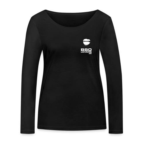 BBQLovers.se Dubbelsidigt tryck - Ekologisk långärmad T-shirt dam från Stanley & Stella