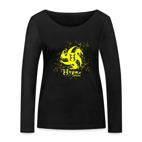 Hydra Design - logo glass explosion - Maglietta a manica lunga ecologica da donna di Stanley & Stella