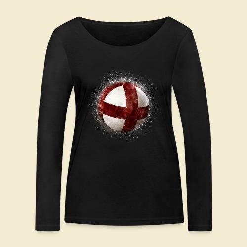 Radball | Cycleball - Frauen Bio-Langarmshirt von Stanley & Stella