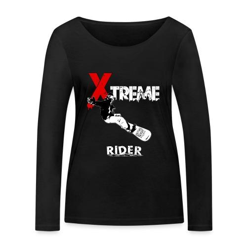 Xtreme Rider - T-shirt manches longues bio Stanley & Stella Femme
