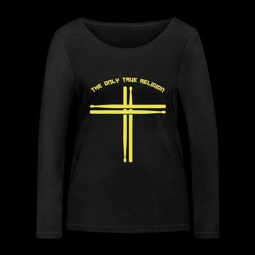 True Religion - Frauen Bio-Langarmshirt von Stanley & Stella