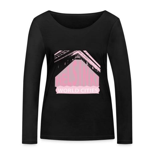 Helsinki light pink - Women's Organic Longsleeve Shirt by Stanley & Stella