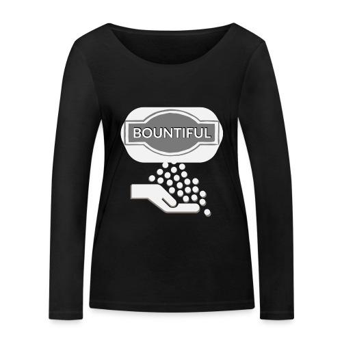 Bontiul gray white - Women's Organic Longsleeve Shirt by Stanley & Stella